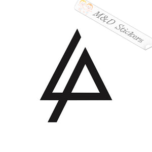 2x Linkin Park Logo Vinyl Decal Sticker Different colors & size for Cars/Bike