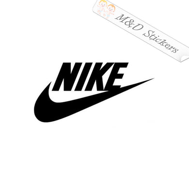 2x Nike Logo Vinyl Decal Sticker Different colors & size for Cars/Bikes/Windows