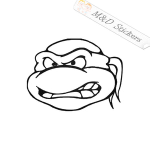 2x Teenage Mutant Ninja Turtles Vinyl Decal Sticker Different colors & size for Cars/Bikes/Windows