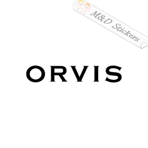 2x Orvis Fishing Rods Vinyl Decal Sticker Different colors & size for Cars/Bikes/Windows