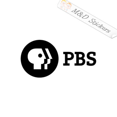 2x PBS Vinyl Decal Sticker Different colors & size for Cars/Bikes/Windows