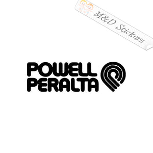 2x Powell Peralta skateboards Logo Vinyl Decal Sticker Different colors & size for Cars/Bikes/Windows