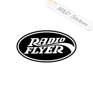 2x Radio Flyer kids wagons Vinyl Decal Sticker Different colors & size for Cars/Bikes/Windows