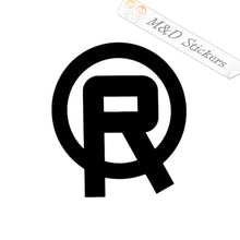 2x Real skateboards Logo Vinyl Decal Sticker Different colors & size for Cars/Bikes/Windows