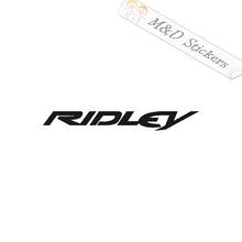 2x Ridley Bicycles Logo Vinyl Decal Sticker Different colors & size for Cars/Bikes/Windows