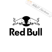 2x Red Bull Logo Vinyl Decal Sticker Different colors & size for Cars/Bikes/Windows