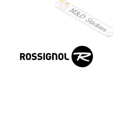 2x Rossignol ski logo Vinyl Decal Sticker Different colors & size for Cars/Bikes/Windows