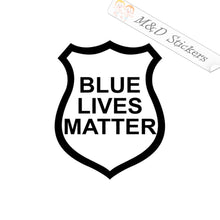 2x Blue lives matter Vinyl Decal Sticker Different colors & size for Cars/Bikes/Windows