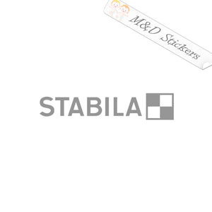 2x Stabila tools Logo Vinyl Decal Sticker Different colors & size for Cars/Bikes/Windows