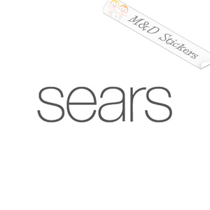2x Sears logo Vinyl Decal Sticker Different colors & size for Cars/Bikes/Windows