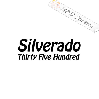 XL (extra large) Silverado 3500 Vinyl Decal Sticker Different colors & size for Cars/Bikes/Windows
