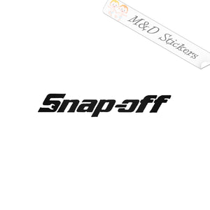 2x Funny Snap-off Logo Vinyl Decal Sticker Different colors & size for Cars/Bikes/Windows