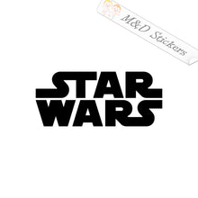 2x Star Wars Logo Vinyl Decal Sticker Different colors & size for Cars/Bikes/Windows