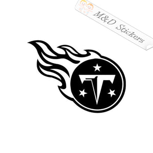 2x Tennessee Titans Vinyl Decal Sticker Different colors & size for Cars/Bikes/Windows