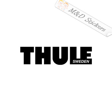 2x Thule roof racks Vinyl Decal Sticker Different colors & size for Cars/Bikes/Windows