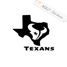 2x Houston Texans Vinyl Decal Sticker Different colors & size for Cars/Bikes/Windows