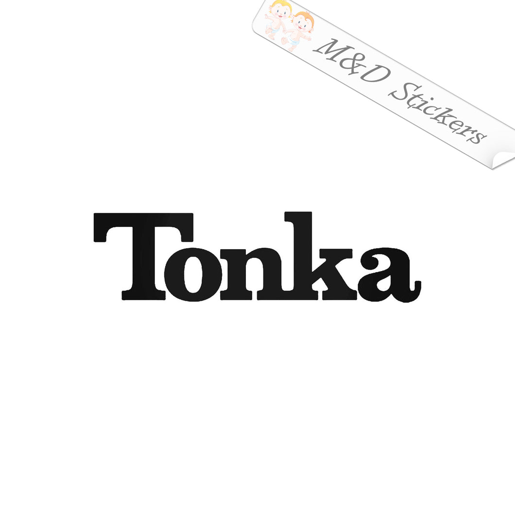 2x Tonka toy cars Vinyl Decal Sticker Different colors & size for Cars/Bikes/Windows
