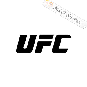 2x UFC Logo Vinyl Decal Sticker Different colors & size for Cars/Bikes/Windows
