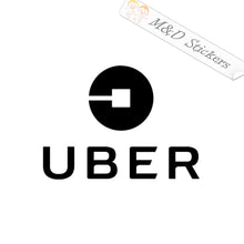 2x Uber Logo Vinyl Decal Sticker Different colors & size for Cars/Bikes/Windows