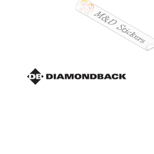2x Diamondback Tools Logo Vinyl Decal Sticker Different colors & size for Cars/Bikes/Windows