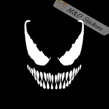 2x Venom Vinyl Decal Sticker Different colors & size for Cars/Bikes/Windows
