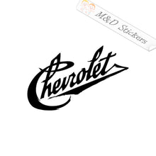 2x Vintage Chevrolet Logo Vinyl Decal Sticker Different colors & size for Cars/Bikes/Windows