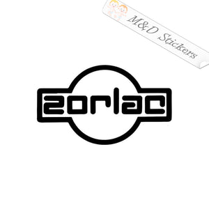 2x Zorlac skateboards Vinyl Decal Sticker Different colors & size for Cars/Bikes/Windows