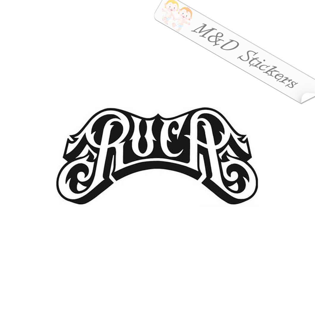 2x RVCA Logo Vinyl Decal Sticker Different colors & size for Cars/Bikes/Windows