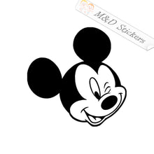 2x Mickey Mouse Vinyl Decal Sticker Different colors & size for Cars/Bikes/Windows