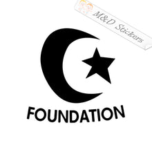 2x Foundation skateboards Logo Vinyl Decal Sticker Different colors & size for Cars/Bikes/Windows