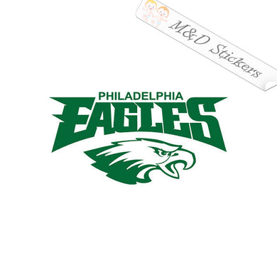 Amazon Com Nfl Football Eagles Sport Decal Car Suv Truck Window Graphic Die Cut Sticker Fan Laptop Notebook Lid Cover In White Philadelphia Handmade