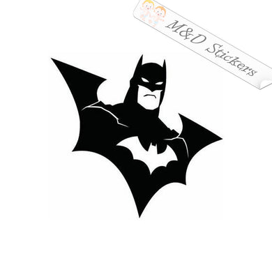 2x Batman Vinyl Decal Sticker Different colors & size for Cars/Bikes/Windows