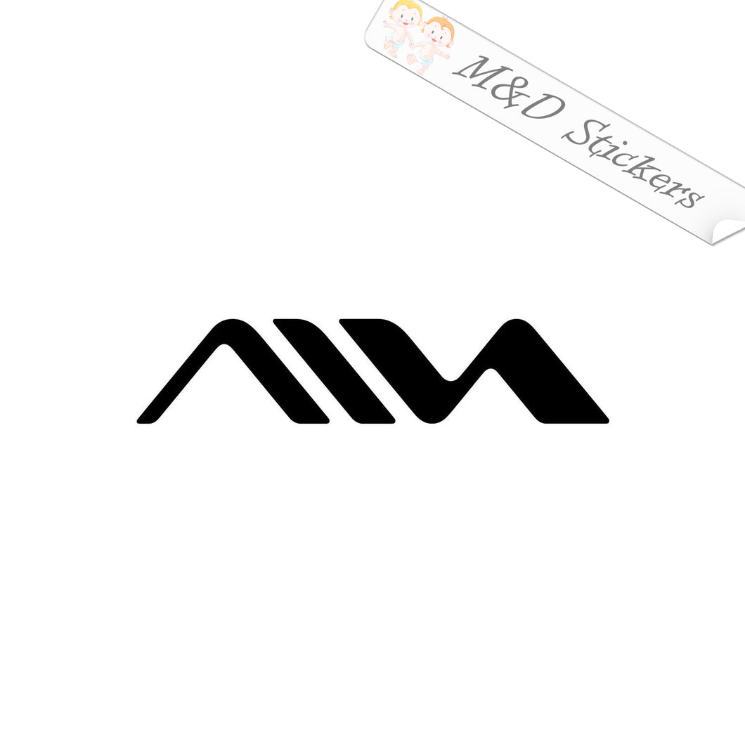 2x Aiwa Vinyl Decal Sticker Different colors & size for Cars/Bikes/Windows