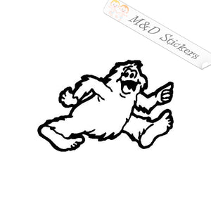2x Bigfoot RV Vinyl Decal Sticker Different colors & size for Cars/Bikes/Windows