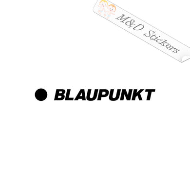 2x Blaupunkt Vinyl Decal Sticker Different colors & size for Cars/Bikes/Windows