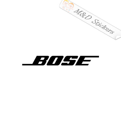 2x Bose Vinyl Decal Sticker Different colors & size for Cars/Bikes/Windows