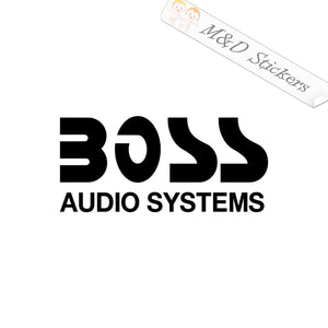 2x Boss Vinyl Decal Sticker Different colors & size for Cars/Bikes/Windows