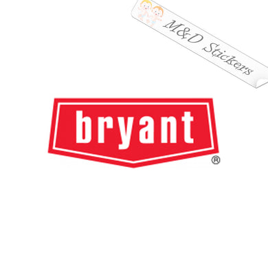 2x Bryant Logo Vinyl Decal Sticker Different colors & size for Cars/Bikes/Windows
