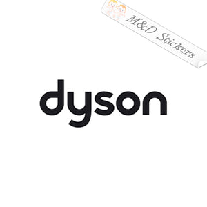 2x Dyson Logo Vinyl Decal Sticker Different colors & size for Cars/Bikes/Windows