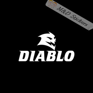 2x Diablo blades Logo Vinyl Decal Sticker Different colors & size for Cars/Bikes/Windows