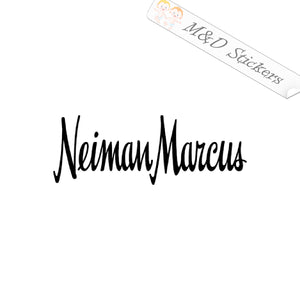 2x Neiman Marcus Logo Vinyl Decal Sticker Different colors & size for Cars/Bikes/Windows