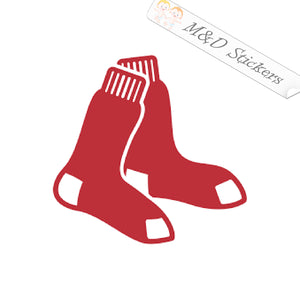 2x Boston Red Sox Vinyl Decal Sticker Different colors & size for Cars/Bikes/Windows