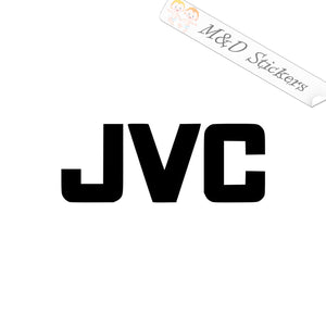 2x JVC Vinyl Decal Sticker Different colors & size for Cars/Bikes/Windows