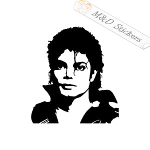 2x Michael Jackson Vinyl Decal Sticker Different colors & size for Cars/Bikes/Windows