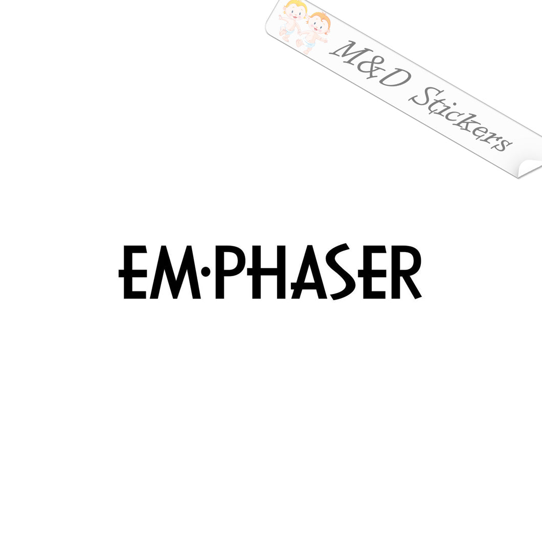 2x Emphaser Vinyl Decal Sticker Different colors & size for Cars/Bikes/Windows