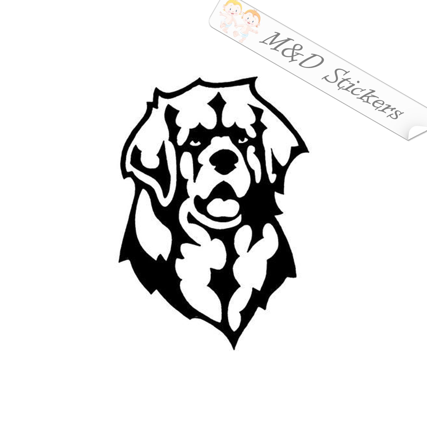 High Quality Adhesive Vinyl Window Decal Sticker Leonberger On Board DC474OB