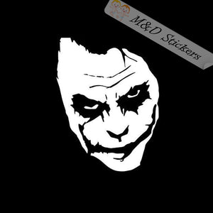 2x Joker Vinyl Decal Sticker Different colors & size for Cars/Bikes/Windows