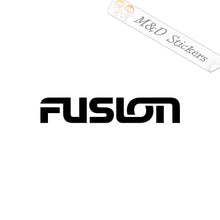 2x Fusion Vinyl Decal Sticker Different colors & size for Cars/Bikes/Windows