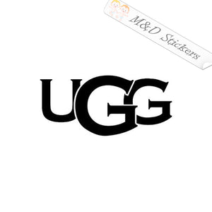 2x UGG Logo Vinyl Decal Sticker Different colors & size for Cars/Bikes/Windows