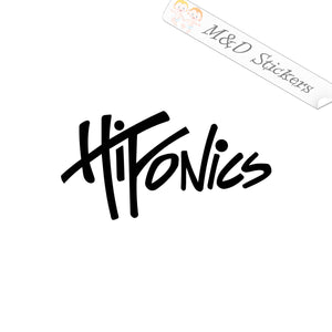 2x Hifonics Vinyl Decal Sticker Different colors & size for Cars/Bikes/Windows
